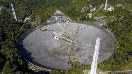 Colapsa uno de los observatorios más importantes del mundo, el Telescopio de Arecibo en Puerto Rico