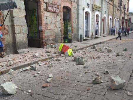 Sismo en México deja daños estructurales, al menos 5 fallecidos y más de 150 réplicas