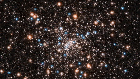 Telescopio Hubble descubre gran concentración de agujeros negros