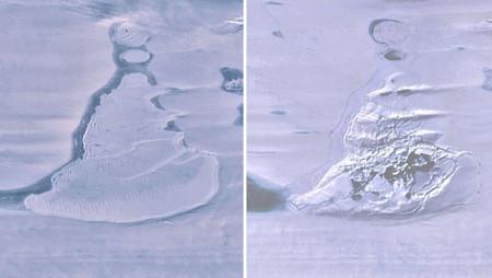 Desaparece repentinamente enorme lago en la Antártida, científicos desconcertados