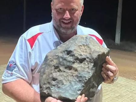 LLueven meteoritos en pueblo de Brasil y lugareños los venden a científicos