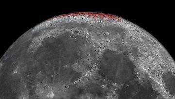 La NASA anuncia que la luna se está oxidando