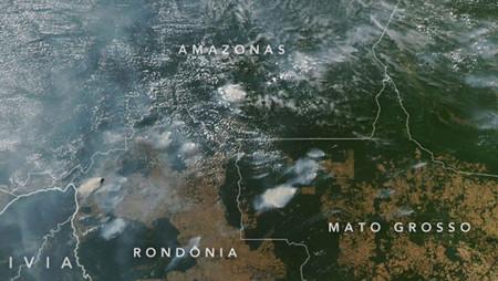 Preocupante advertencia de la NASA, huracanes en el Atlántico e incendios en el Amazonas