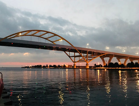 A place called HOAN. Hoan Bridge in milw