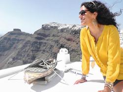 On top of the World! Santorini