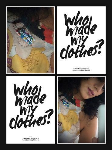 Fashion Revolution clothes