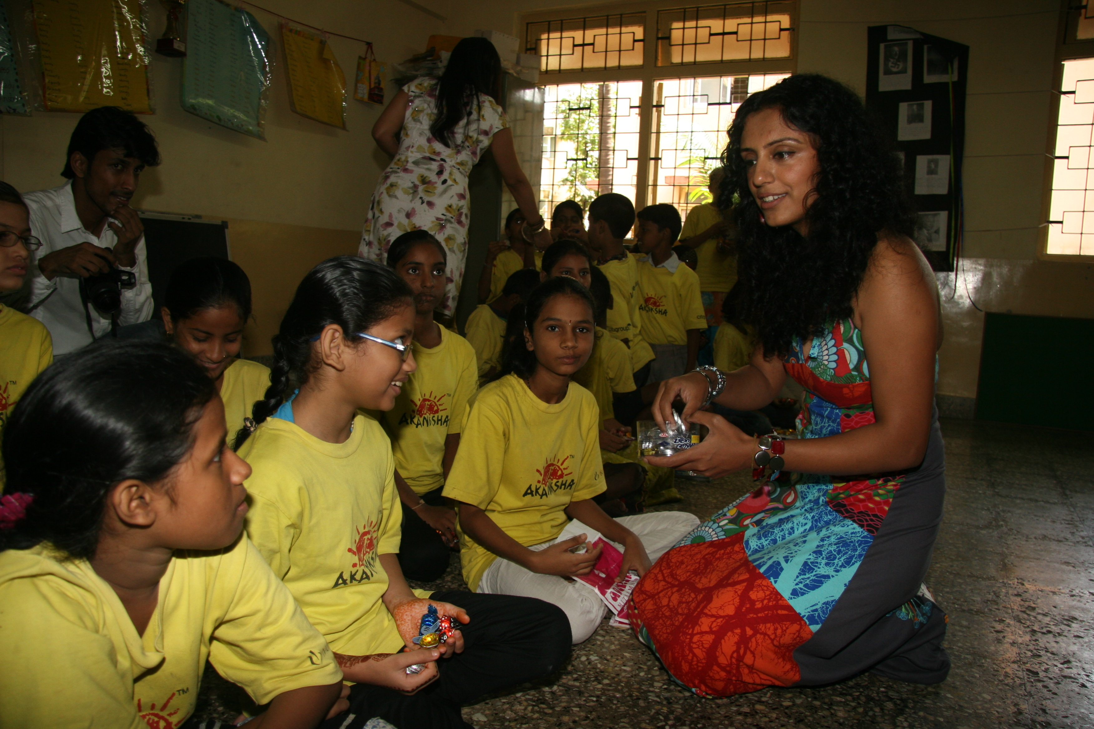 Volunteering at Akanksha