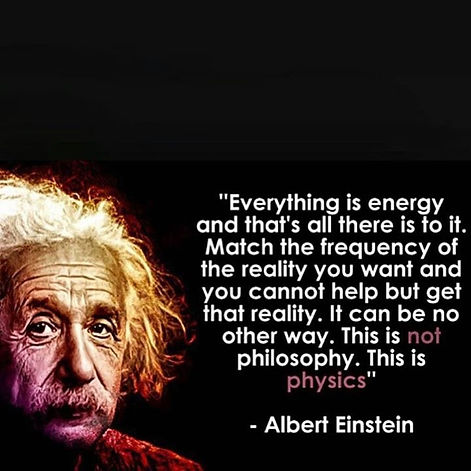 Quote on energy by Einstein