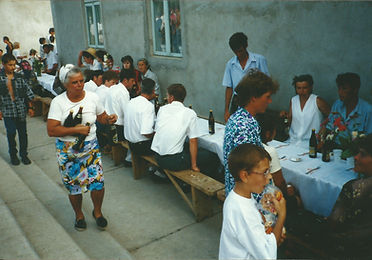 2001 - dorpsfeest met gratis drank en ko