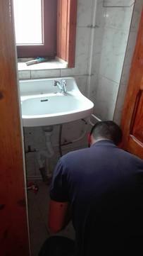 Bouw wc gebouw