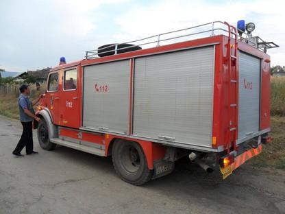 Brandweerwagen geschonken door brandweer Nijlen