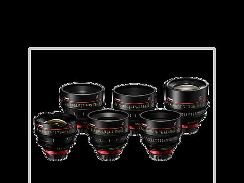 Canon CN-E Prime Kit (6 Lenses)