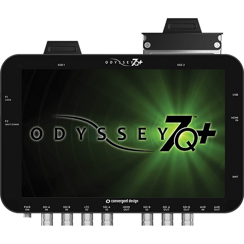 Convergent Design Odyssey7Q+ Monitor and Video Recorder