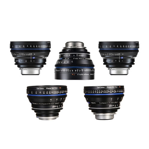 Zeiss CP.2 Prime Kit (5 Lenses)