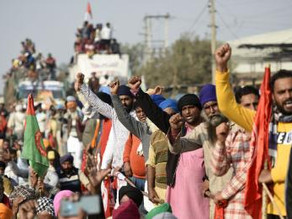 Farmers Protest Policy Changes in New Delhi, India