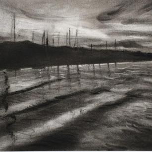 Medina river, Cowes Framed original £85