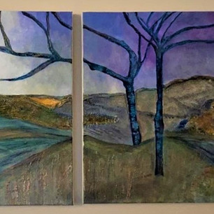 Diptych Landscape (sold)