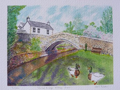 Dunsop Bridge Village Green Limited Ended Print