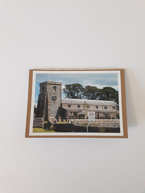 St Andrew's Church Slaidburn Greeting Card