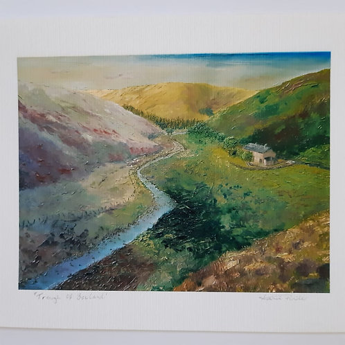 Trough Of Bowland Fine Art Print Open Edition Signed