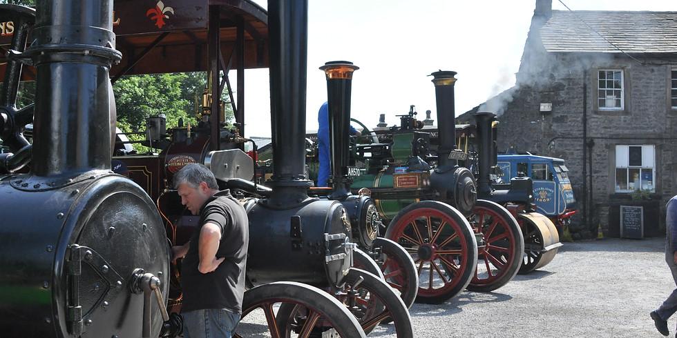 Slaidburn Steam and Vintage Vehicle Display