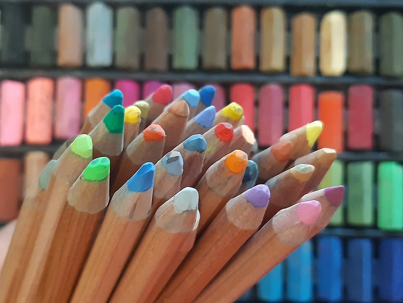 Pencils and Pastels