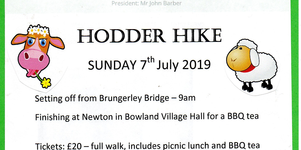 Hodder Hike