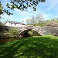 Dunsop Bridge Green Looking Towards Brid