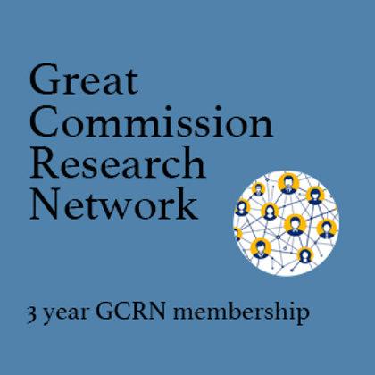 GCRN 3 Year Regular Membership