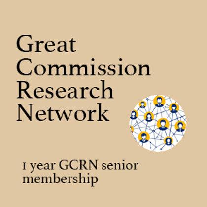 One Year Senior Membership