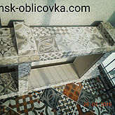 Минск укладка плитки, облицовка, мозаика, камень, клинкер.