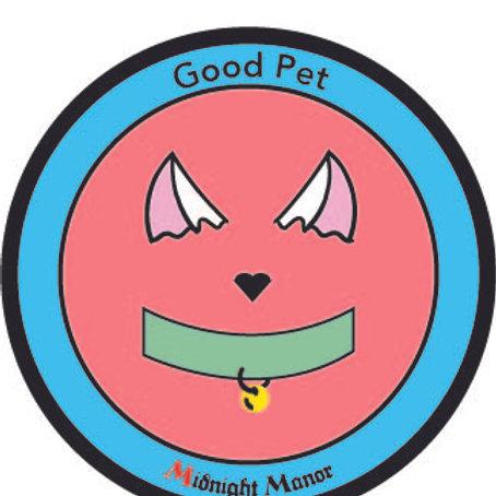 "Kinky Merit ""Sticker"" Badge ""Good Pet"""