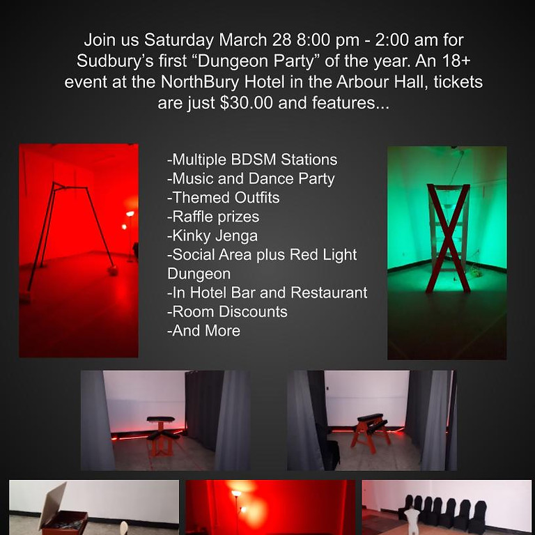 Mar 28 Dungeon Party