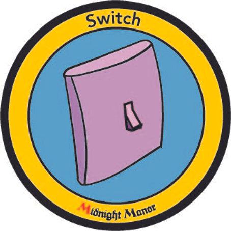 "Kinky Merit ""Sticker"" Badge ""Switch"""