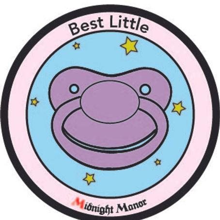 """Kinky Merit """"Sticker"""" Badge """"Little"""""""