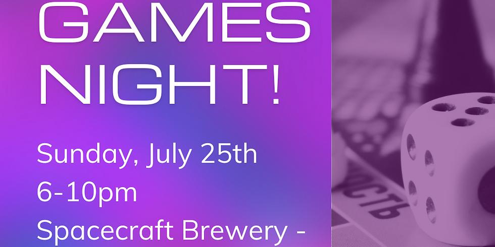 Adult Board Games Night