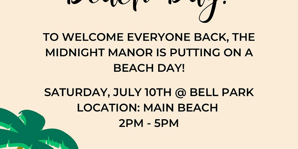 The Midnight Manor Beach Day
