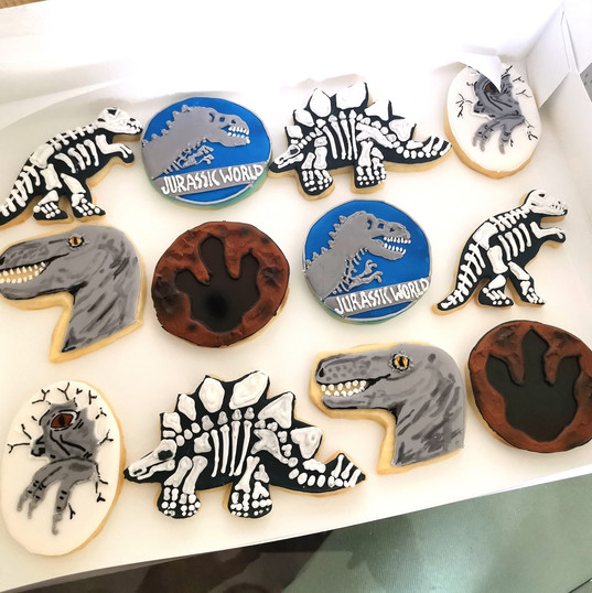 Jurassic Park Cookies