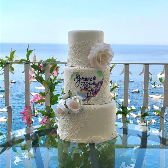 Destination Wedding Cake