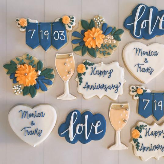 Anniversary Cookies