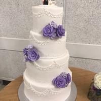Star Wars Wedding Cake Front