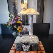 Cat Tree Cake 100% edible