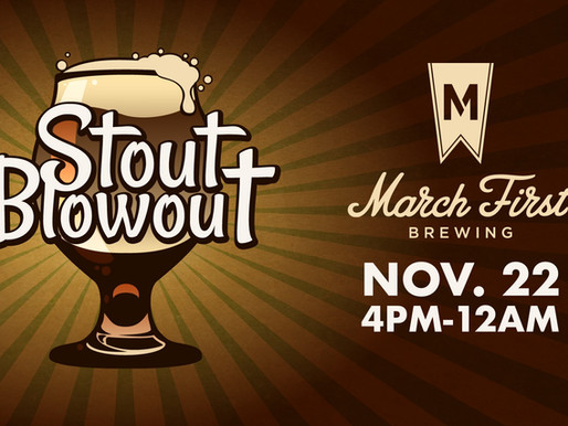 Everything you need to know about Stout Blowout