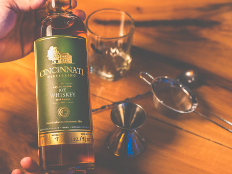 Cincinnati Distilling Releases Cincinnati Rye Whiskey
