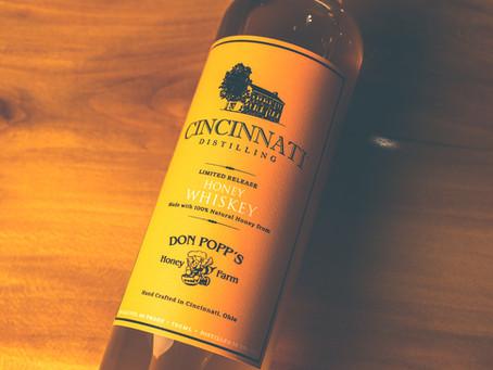 Cincinnati Distilling Releases Honey Whiskey Made With Don Popp's Honey