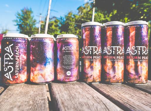 Astra Hard Seltzer Cans Go Slim!