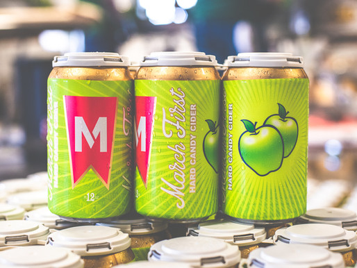 March First Launches Green Apple Hard Candy Cider