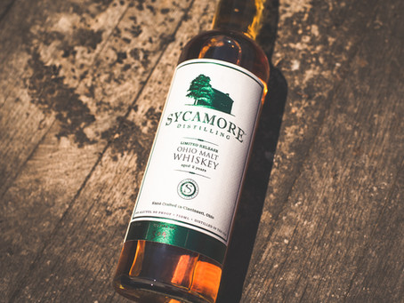Sycamore Distilling Launches Ohio Malt Whiskey