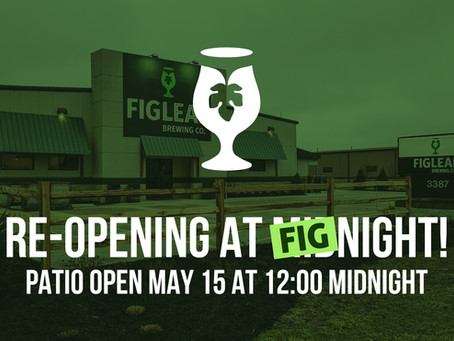 Patio Re-Open May 15 at Midnight!