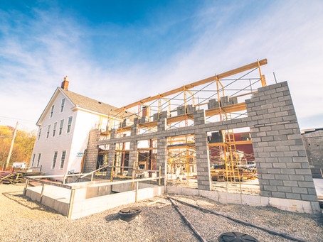 April 2021 Construction Update